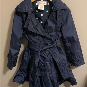 Adorable 3T rain jacket peacoat